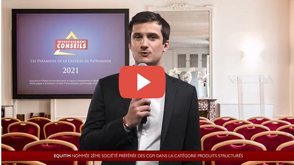 [vidéo] Equitim, 2ème société préférée des CGP en 2021